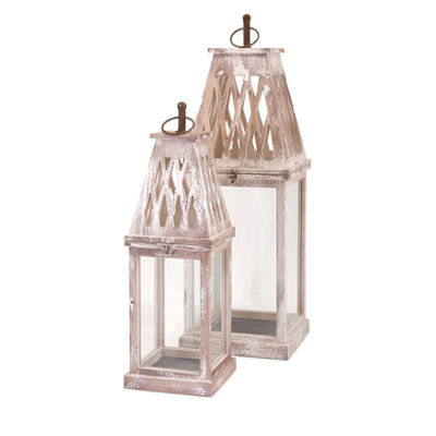 IMAX Worldwide Home Ramsey Lanterns - Set of 2