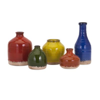 IMAX Worldwide Home Cameron Mini Vase - Set of 5