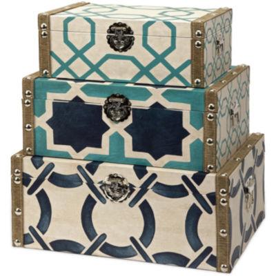 IMAX Worldwide Home Hadley Boxes - Set of 3