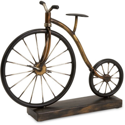 IMAX Worldwide Home Big Wheel Bicycle Statuary