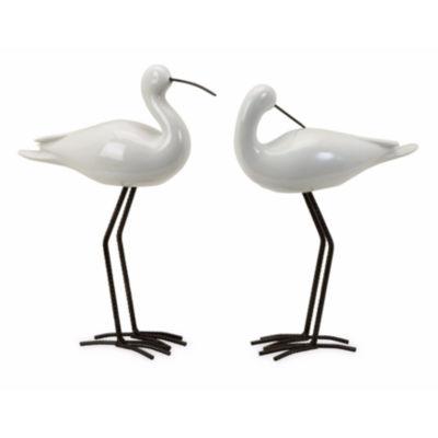 IMAX Worldwide Home Shire Ceramic Seabirds - Set of 2