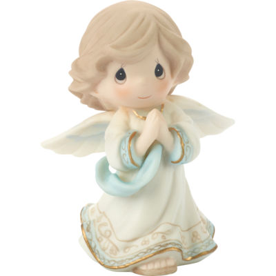 """Precious Moments  """"Glory To God In The HighestBisque Porcelain Figurine  #131035"""