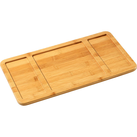 Celebrations by Precious Moments 171514 Bamboo Serving Tray  15.5-inches by 8.25-inches