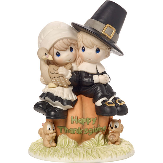 Precious Moments I Give Thanks Every Day For You Limited Edition Bisque Porcelain Sculpture179014