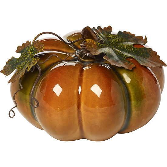 Bountiful Blessings by Precious Moments 171556 Small Porcelain Pumpkin  3.25-inches