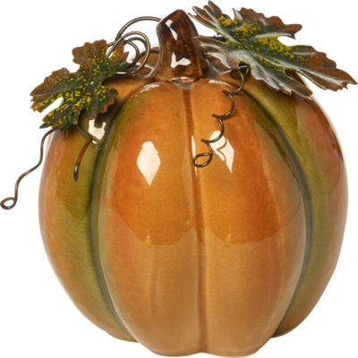 Bountiful Blessings by Precious Moments 171555 Large Porcelain Pumpkin  7-inches