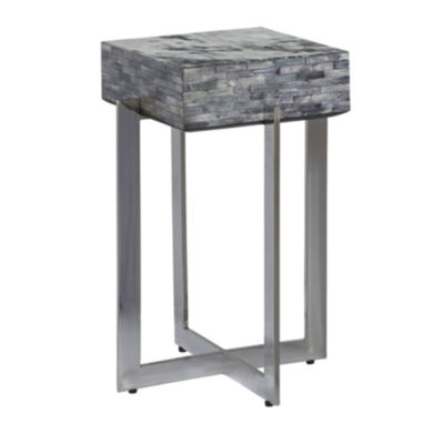 Calvin Bone Inlay Accent Table