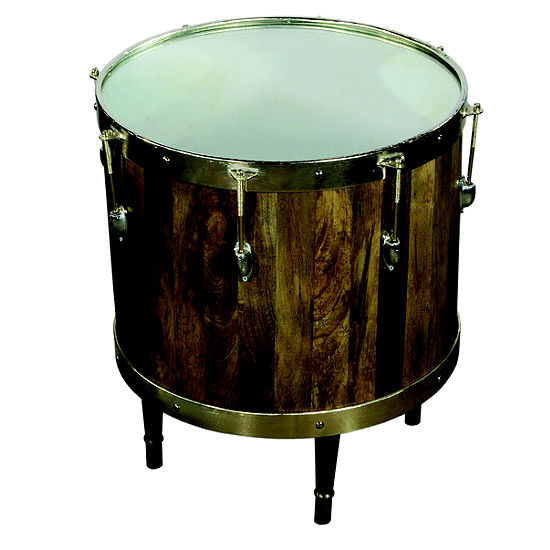 Craig Drum Accent Table