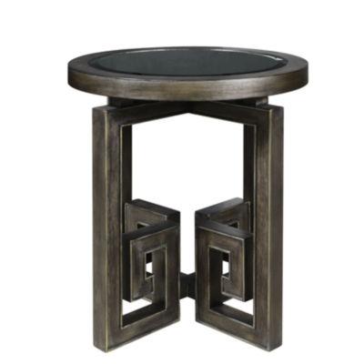 Albyn Greek Key Leg Table