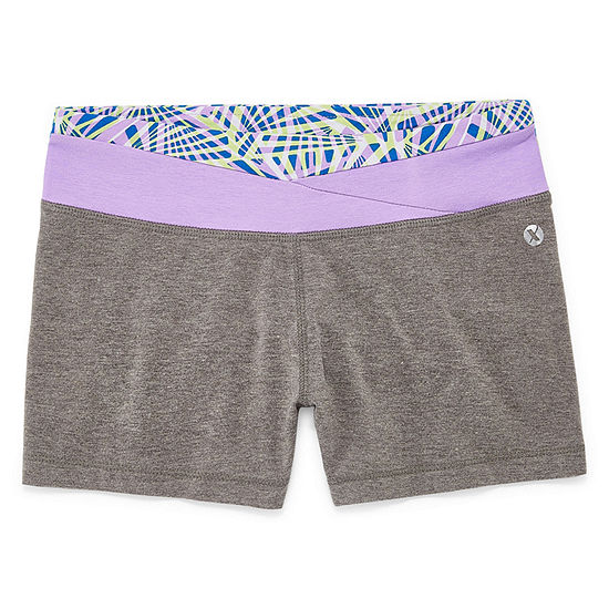 Xersion Wrap Waist Short Girls 4-16 and Plus