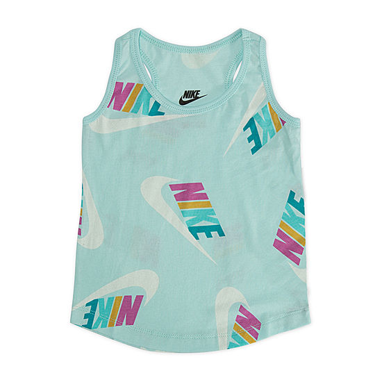 Nike Girls Crew Neck Tank Top - Toddler