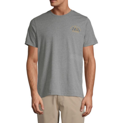 St. John's Bay Mens Crew Neck Short Sleeve Graphic T-Shirt