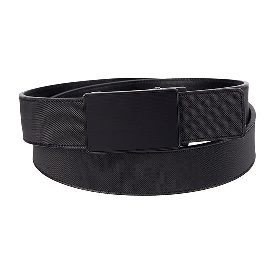 JF J.Ferrar® Track Lock Men's Belt with Plaque Buckle