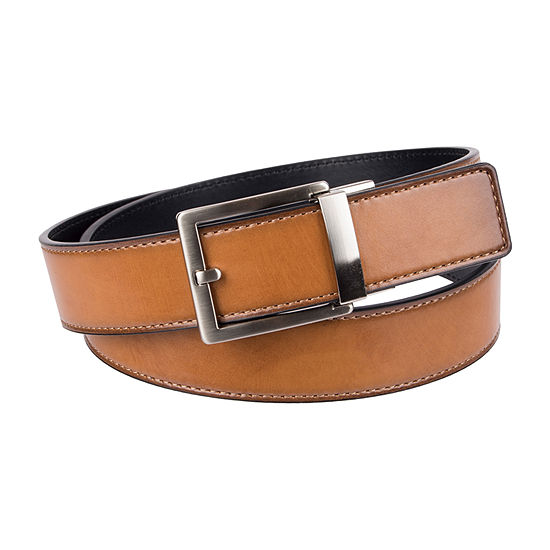 JF J.Ferrar® Pressure Lock Men's Belt with Single Stitch