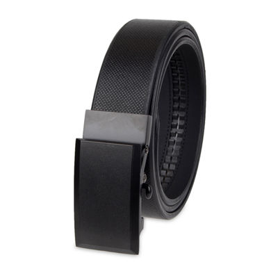 JF J.Ferrar® Track Lock Casual Men's Belt with Plaque Buckle