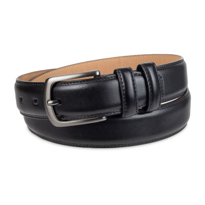 Stafford® Men's Dress Belt with Double Keeper