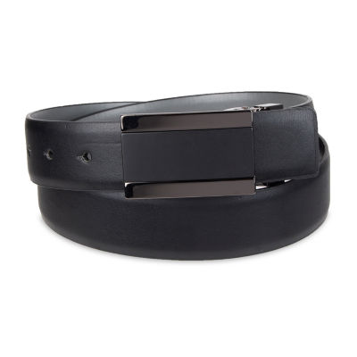 JF J.Ferrar® Reversible Men's Belt with Plaque Buckle