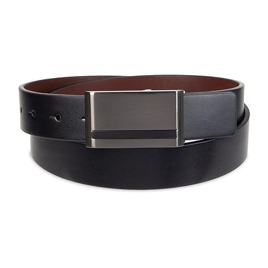 JF J. Ferrar® Reversible Dress Men's Belt with Plaque Buckle