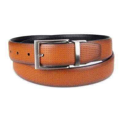 JF J.Ferrar® Stretch Reversible Perforated Men's Belt