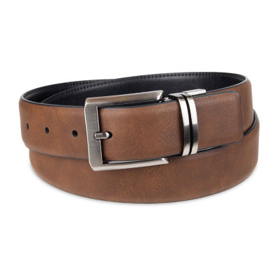 JF J.Ferrar® Stretch Reversible Dress Men's Belt with Feather Edge