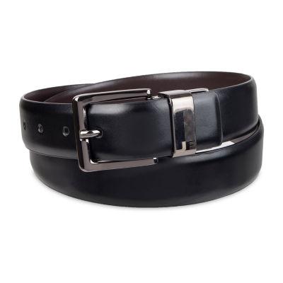 JF J.Ferrar® Reversible Dress Men's Belt with Metal Keeper