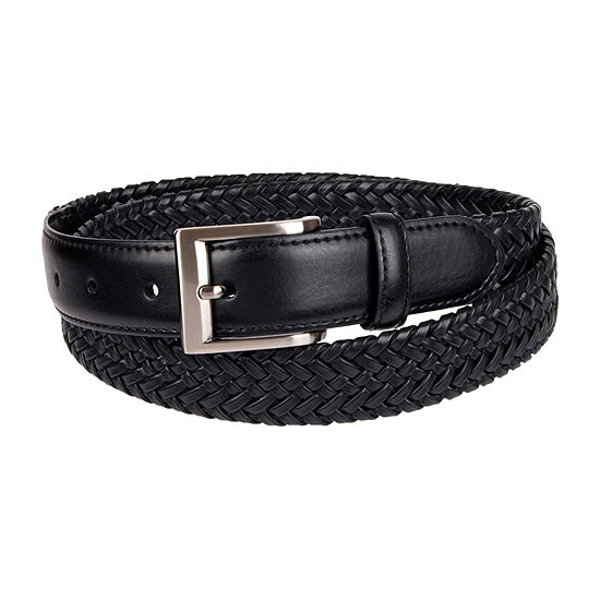Stafford® Men's Braided Stretch Belt