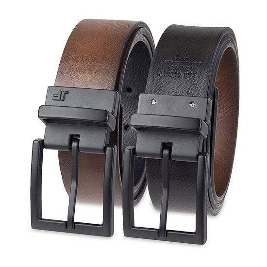 JF. J Ferrar® Reversible Men's Belt with Metal Keeper