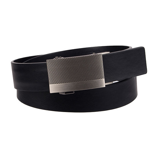 JF J.Ferrar® Track Lock Men's Belt with Plaque Buckle