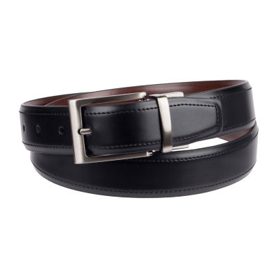 Stafford® Men's Reversible Stretch Dress Belt with Metal Keeper
