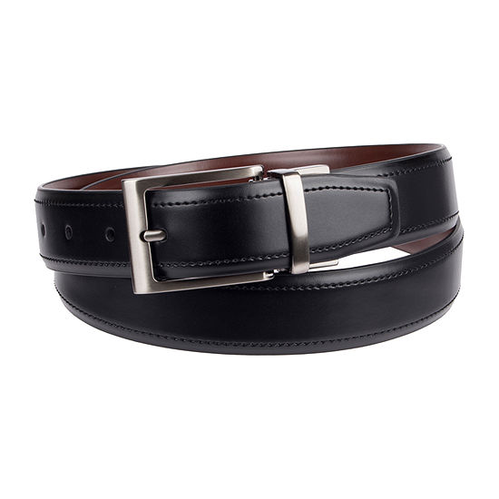 Stafford® Men's Reversible Stretch Dress Belt with Metal Keeper