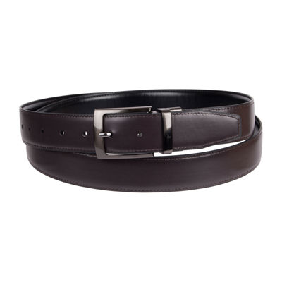 Stafford® Men's Reversible Dress Belt with Feathered Edge - Big & Tall