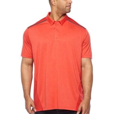 Msx By Michael Strahan Mens Short Sleeve Polo Shirt Big and Tall