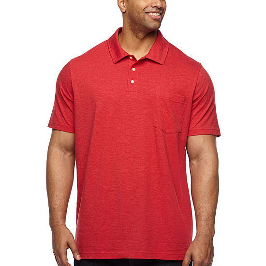 The Foundry Big & Tall Supply Co. Mens Short Sleeve Polo Shirt Big and Tall