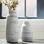 Signature Design By Ashley® Set of 2 Donaver Vases