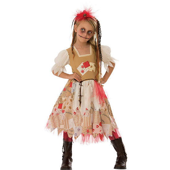 Girls Voodoo Girl Costume Girls Costume