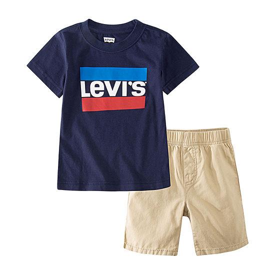 Levi's Toddler Boys 2-pc. Short Set
