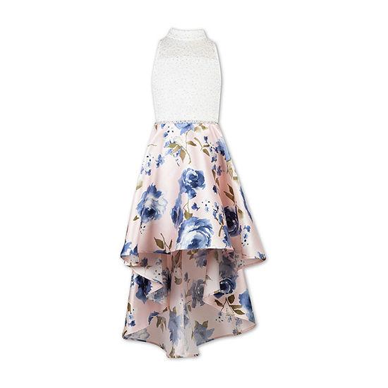 Speechless Girls Embellished Sleeveless Fit & Flare Dress - Preschool / Big Kid