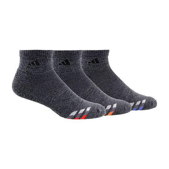 adidas Climalite Mens 3 Pair Quarter Socks