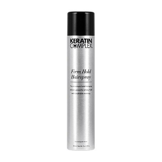 Keratin Complex Strong Hold Hair Spray-9 oz.