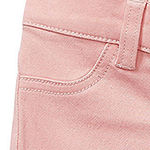 Okie Dokie - Baby Girls Tapered Pull-On Pants
