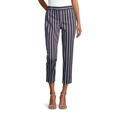 Worthington Womens Low Rise Regular Fit Ankle Pant