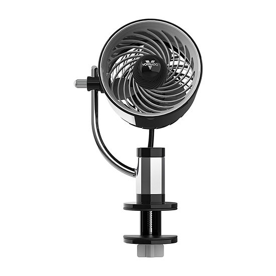 Vornado PIVOTC Personal Air Circulator Fan with Multi-Surface Clip, Black