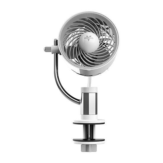 Vornado PIVOTC Personal Air Circulator Fan with Multi-Surface Clip, White