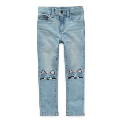 Okie Dokie Little Girls Skinny Fit Jean