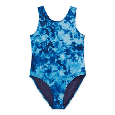 City Streets Little & Big Girls Plus One Piece Swimsuit