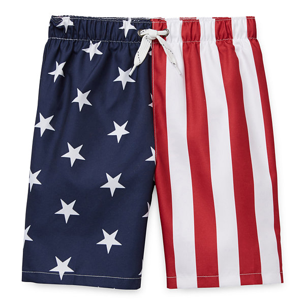 City Streets Toddler Boys Swim Trunks