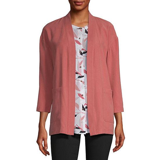 Liz Claiborne Studio Lightweight Softshell Jacket