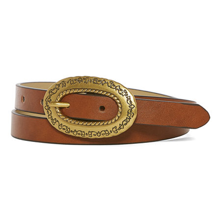 Vintage Western Wear Clothing, Outfit Ideas a.n.a Skinny Western Combo Womens Belt Small  Brown $11.69 AT vintagedancer.com