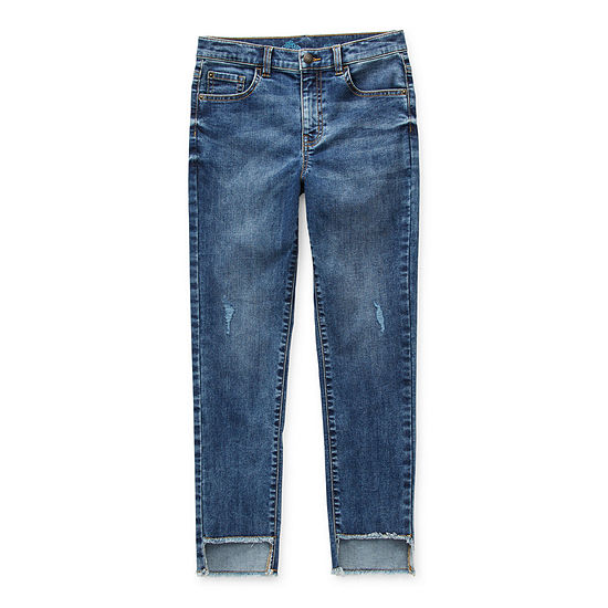 Thereabouts Girlfriend Little & Big Girls Straight Relaxed Fit Jean