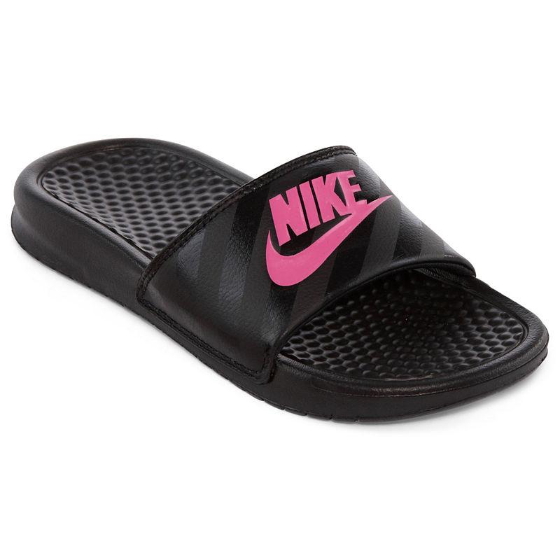 Nike Benassi Solarsoft Womens Slide Sandals plus size,  plus size fashion plus size appare